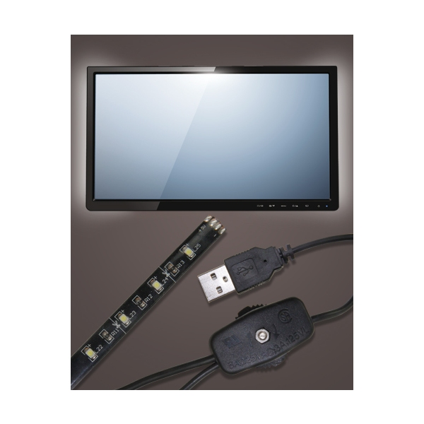 LED backlighting for TV sets Barkan USB Mood Light L10